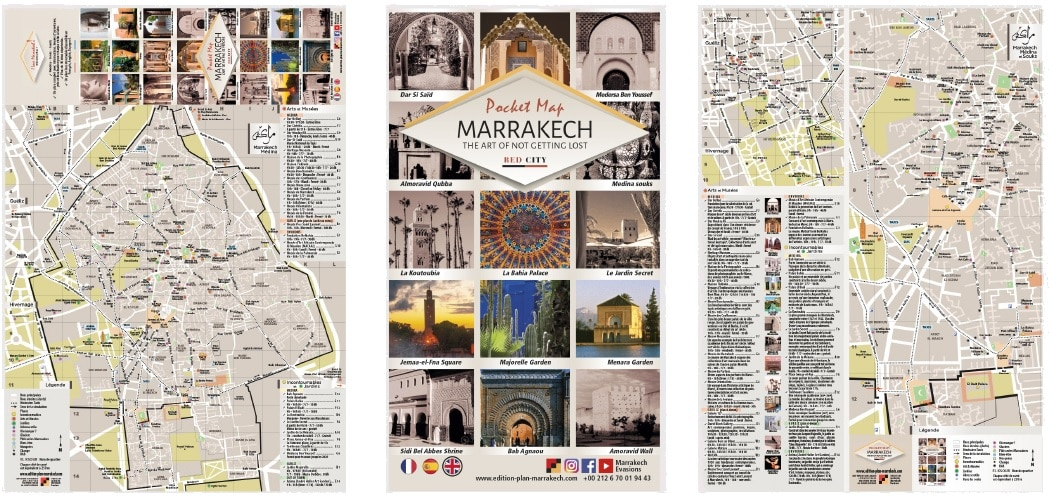 Maps of Marrakech
