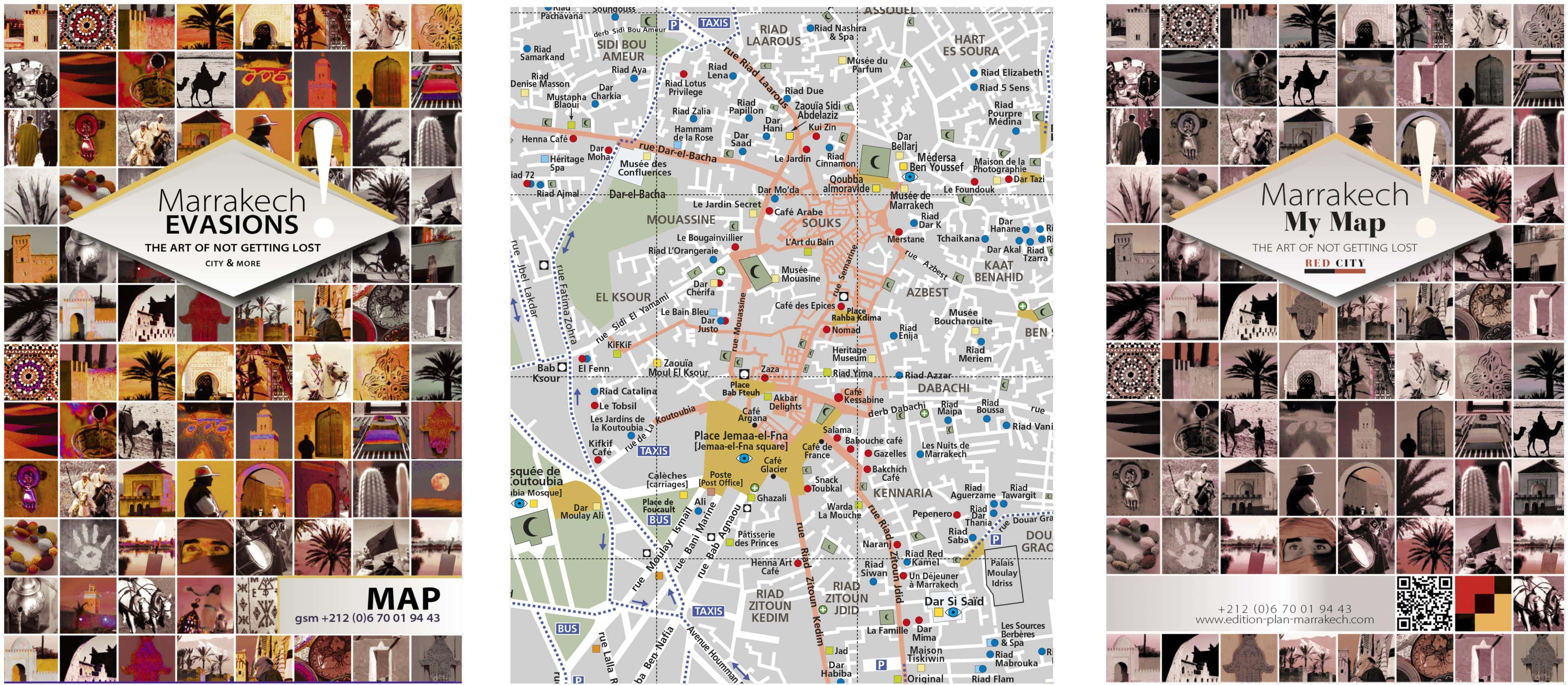 Maps of Marrakech